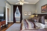 <h5>Courtyard View Queen</h5><p>Upstairs guest room featuring Stearns & Foster queen sized bed and private bath. In the rear of the house, so it's extremely quiet and perfect for late sleepers!</p>