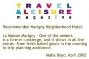 Travel + Leisure Magazine clipping