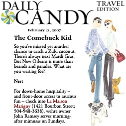 Daily Candy Travel Edition, February 2007